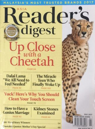 Reader's Digest May 2017
