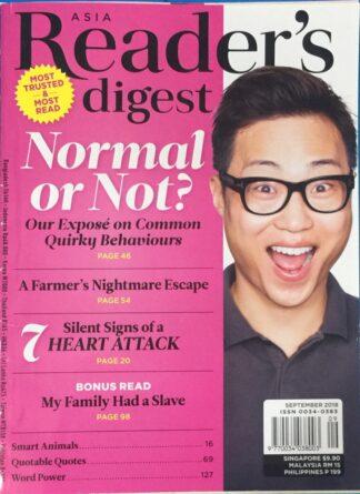 Reader's Digest September 2018