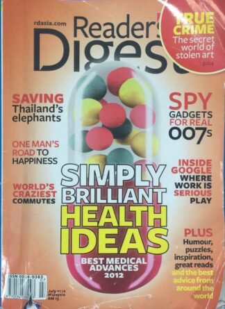 Reader's Digest July 2012