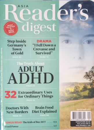 Reader's Digest September 2017