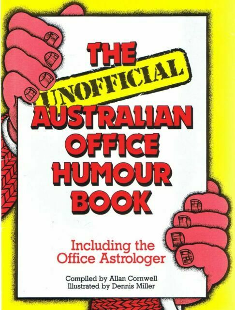 1105360 The Unofficial Australian Office Humour Book books secondhand booksnbobs bookstore malaysia