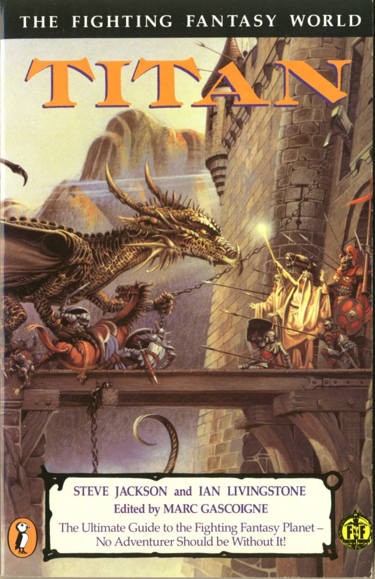 1105483 Titan (The Fighting Fantasy World) books secondhand booksnbobs bookstore malaysia