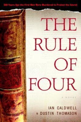 1173116 The Rule of Four books secondhand booksnbobs bookstore malaysia