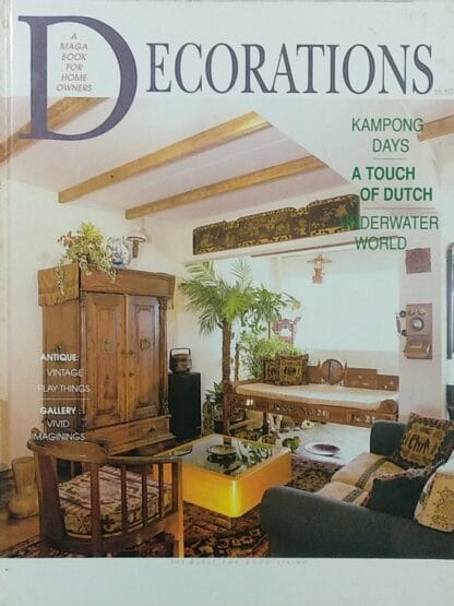 Decorations - Volume 8: Kampong Days, A Touch of Dutch, Underwater World by Lara Evans
