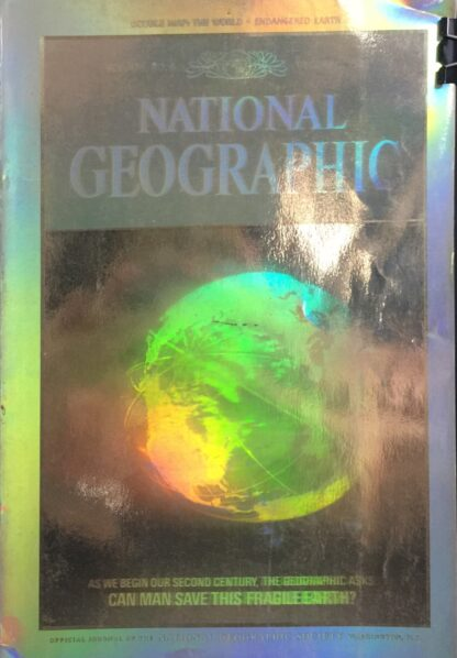 National Geographic December 1988 (Holographic Cover)