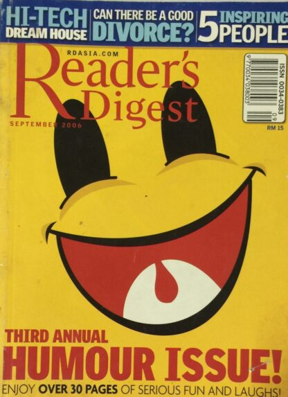 Reader's Digest September 2006