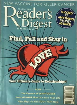 Reader's Digest February 2007