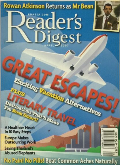 Reader's Digest April 2007