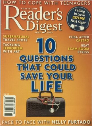 Reader's Digest June 2007