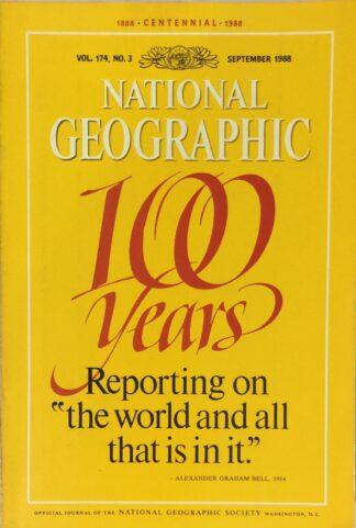 National Geographic September 1988
