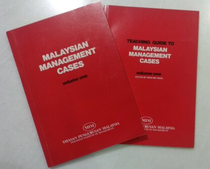 Malaysian Management Cases (Vol 1) / Teaching Guide to Malaysian Management Cases (Vol 1) by Malaysian Institute of Management