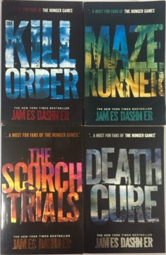 The Maze Runner Quartet by James Dashner