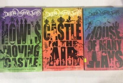 Howl's Moving Castle Trilogy by Diana Wynne Jones