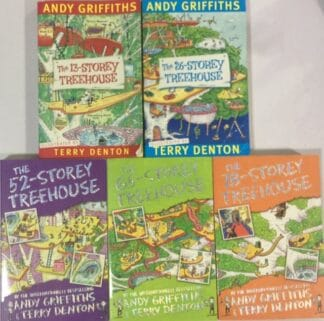 The 13-Storey Treehouse Set by Andy Griffiths