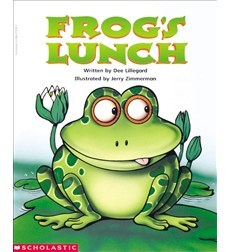 Frog's Lunch by Dee Lillegard