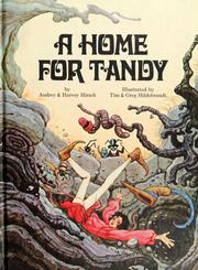 A Home for Tandy (1971) by Audrey & Harvey Hirsch