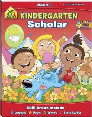 School Zone: Kindergarten Scholar by Various Authors