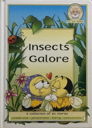 Insects Galore: A Collection of Six Stories by Katiuscia Giusti