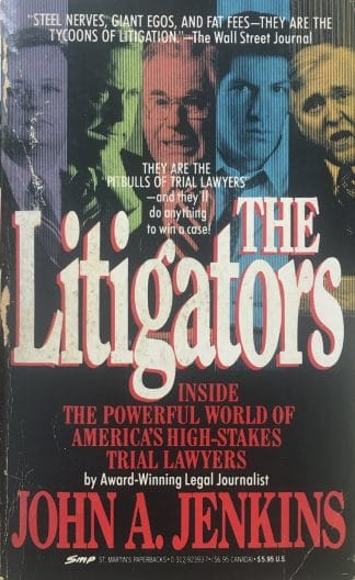 The Litigators by John A Jenkins