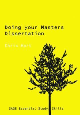 Doing Your Masters Dissertation by Chris Hart