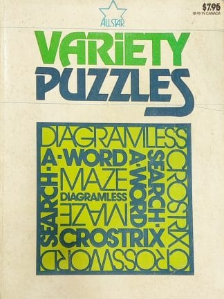 Variety Puzzles by All Star Editors