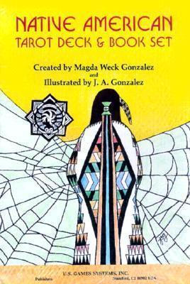 Native American Tarot Deck & Book Set by Magda Weck Gonzalez