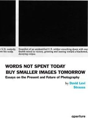 Words Not Spent Today Buy Smaller Images Tomorrow: Essays on the Present and Future of Photography by David Levi Strauss