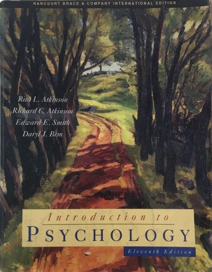 Introduction to Psychology (11th Edition) by Rita L. Atkinson