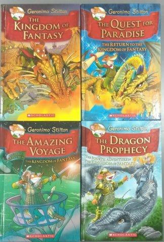 Geronimo Stilton: The Kingdom of Fantasy (Four-book Set) by Geronimo Stilton