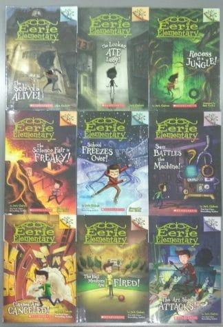 Eerie Elementary (Nine-book Set) by Jack Chabert