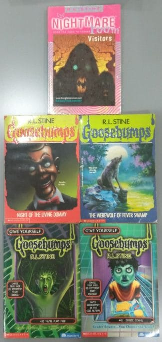 R. L. Stine's Goosebumps (Five-book Set) by R. L. Stine