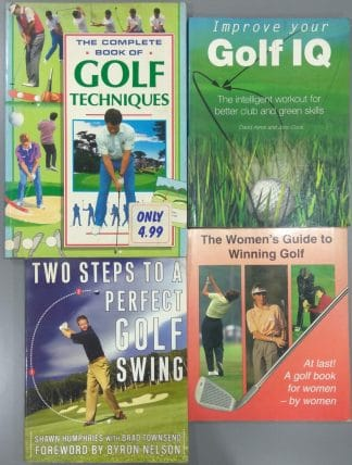 Golf Books Bundle