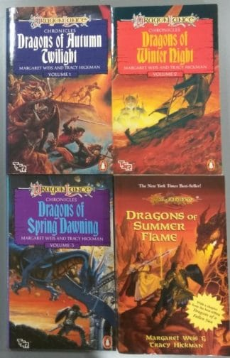 Dragonlance Chronicles (Four-book Set) by Margaret Weis, Tracy Hickman