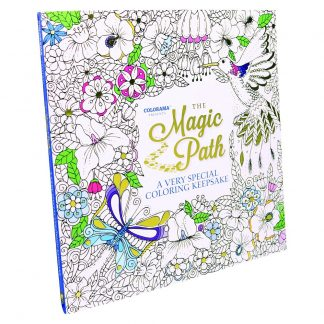 The Magic Path: A Very Special Coloring Keepsake by Nikolett Corley