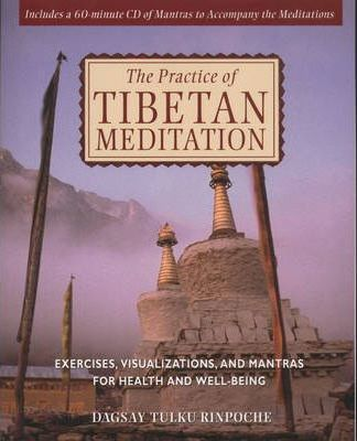 The Practice of Tibetan Meditation: Exercises, Visualizations, and Mantras for Health and Well-being by Dagsay Tulku Rinpoche