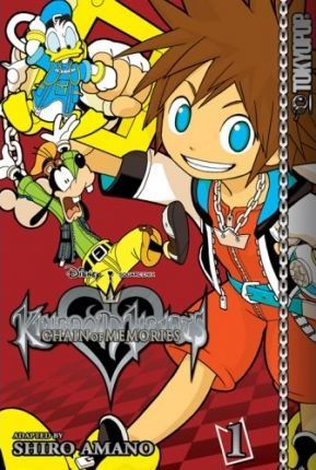 Kingdom Hearts: Chain of Memories Vol. 1 by Shiro Amano