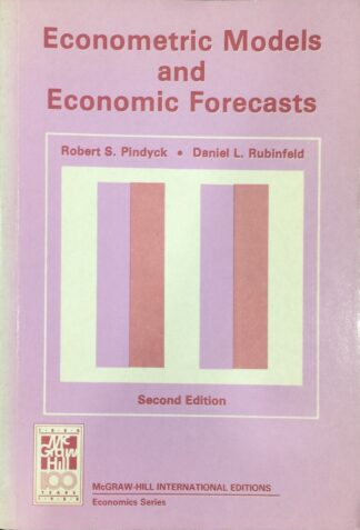 Econometric Models and Economic Forecasts (1981) by Robert S. Pindyck, Daniel L. Rubinfeld