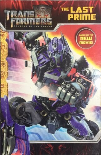 Transformers Revenge of the Fallen: The Last Prime by Tracey West