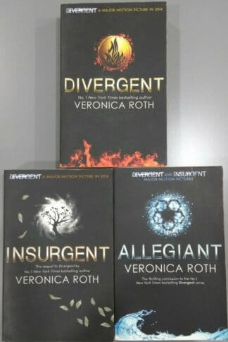 Divergent Trilogy 2 by Veronica Roth